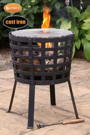 Garden Fire Baskets