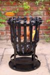 - Traditional Garden Brazier Vulcan including BBQ grill & collection plate
