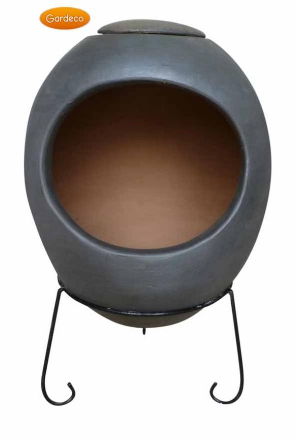 - Extra-Large Ellipse Mex Chim gl. effect charcoal grey