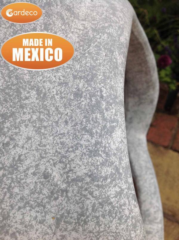 - Extra-Large Ellipse Mex Chim matt mottled- grey