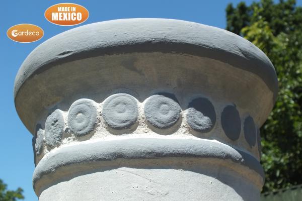 -  Azteca XL Mexican Chimenea in Grey