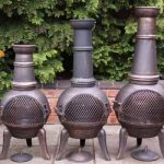 -Granada cast iron chimenea medium, 90cm high