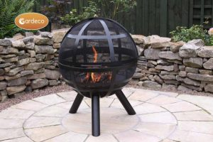 - ISON Ball firepit 60cm diameter x 80cm high