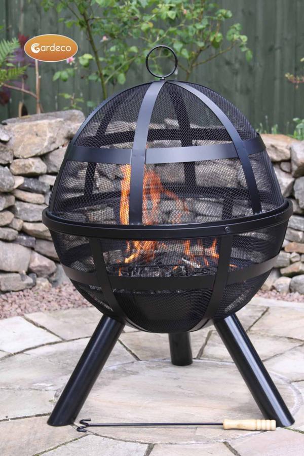 - ISON Ball firepit 60cm diameter x 80cm high