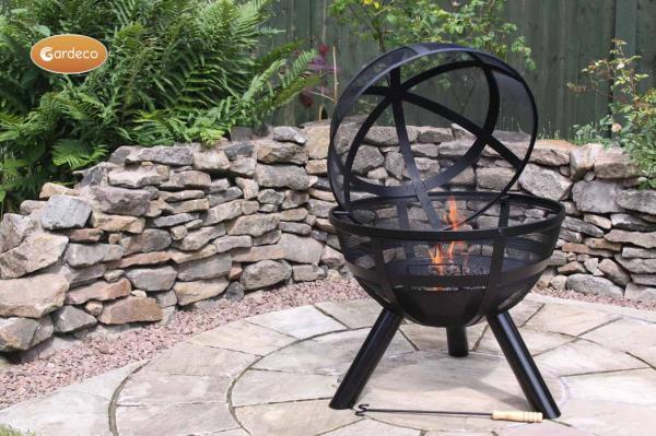-ISON Ball firepit 60cm diameter x 80cm high