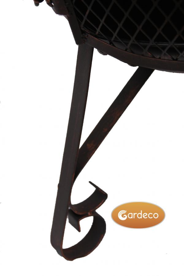 - Lexie Small Steel Chimenea 70cm high