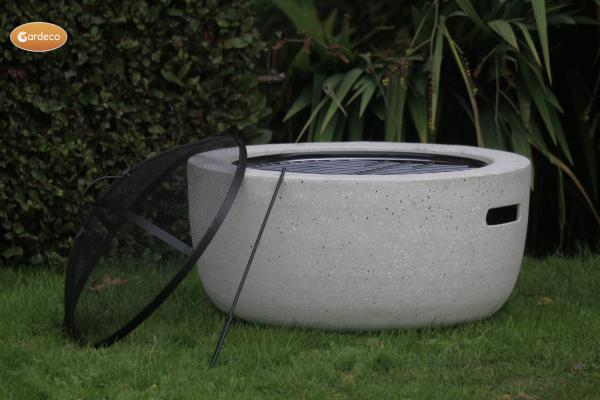- MGO Marbella round garden fire pit