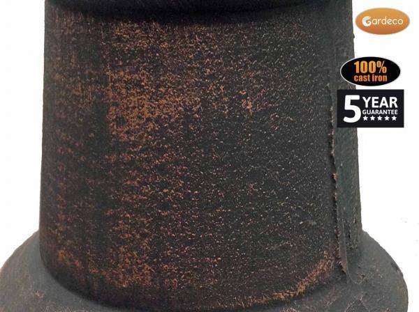 - Toledo Cast Iron Chimenea Jumbo size in bronze