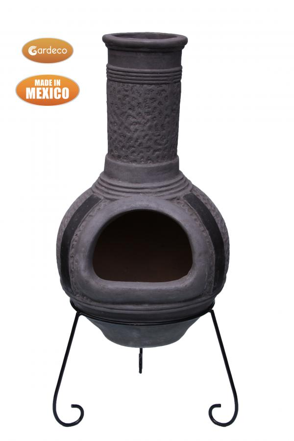 - Linea XL Mexican Chimenea in Grey