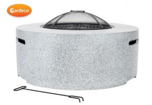 - Cylinder MGO fire pit