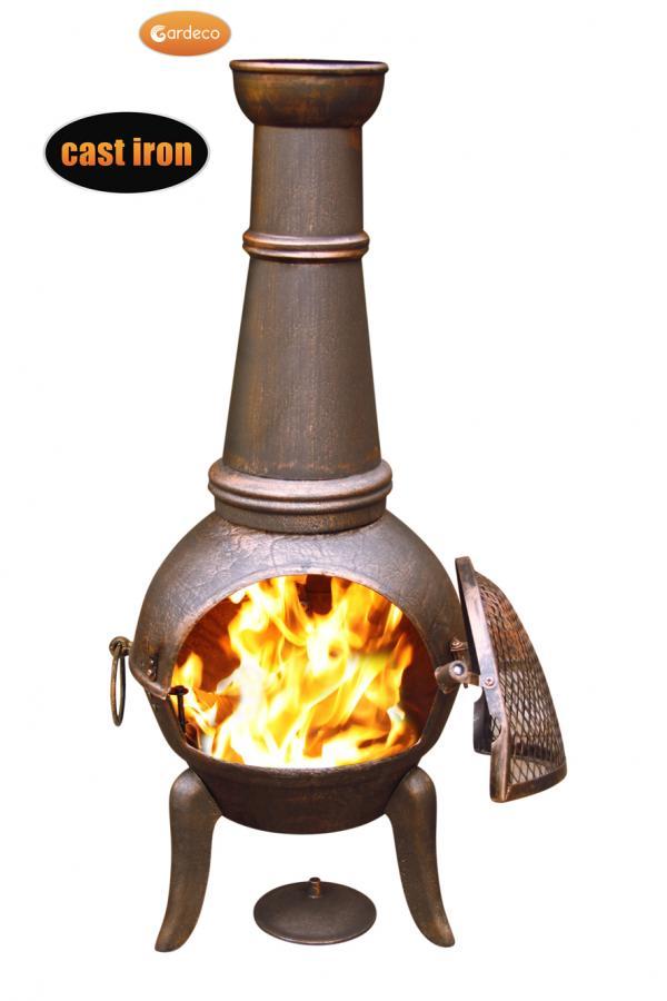 -Granada XL cast iron chimenea