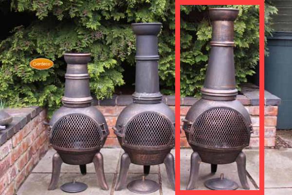 Granada Extra-Large Cast Iron Chimenea Compare