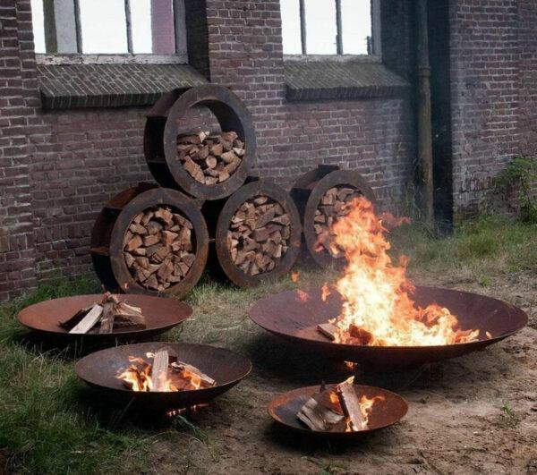 Adezz Corten Steel Fire Bowls