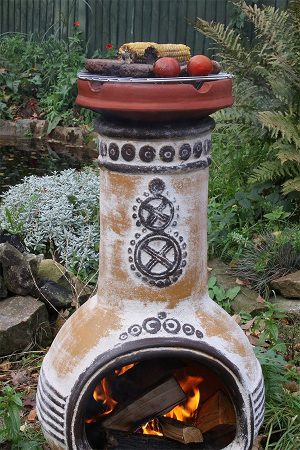 Clay Cooking Crown For Clay Chimeneas