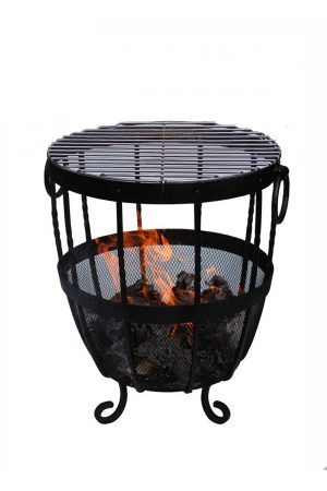 Garden Fire Baskets & Braziers