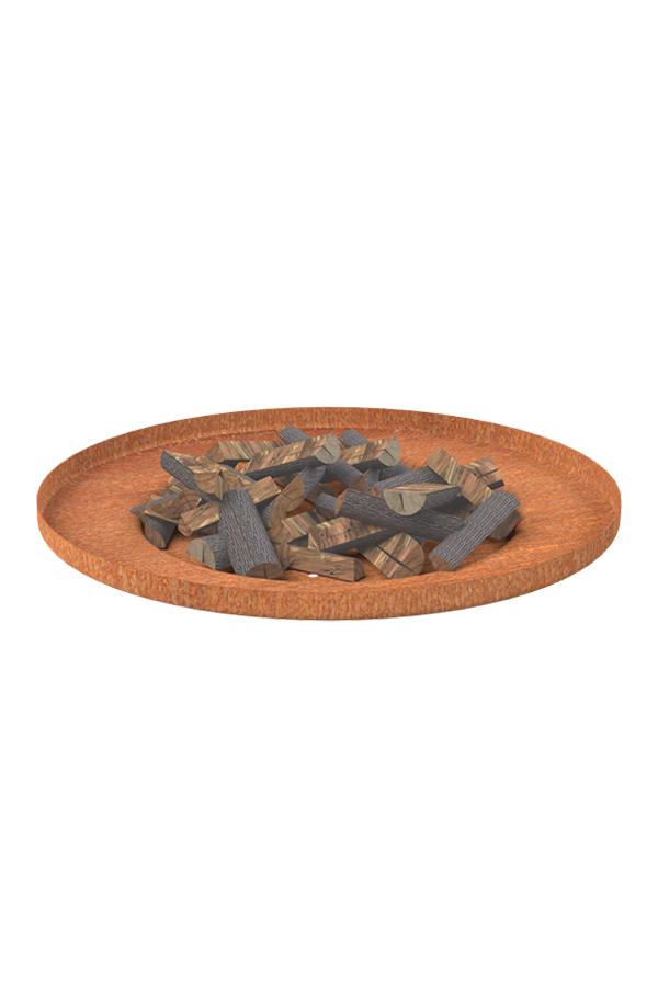 Adezz Corten Steel Borc Fire Saucer