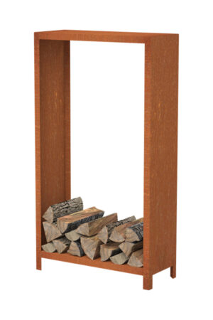 Adezz Forno Corten Steel Wood Storage Unit