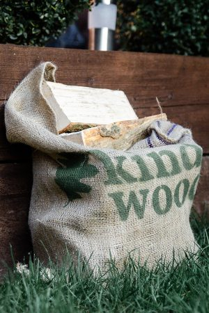 Hessian Sack Hardwood Logs