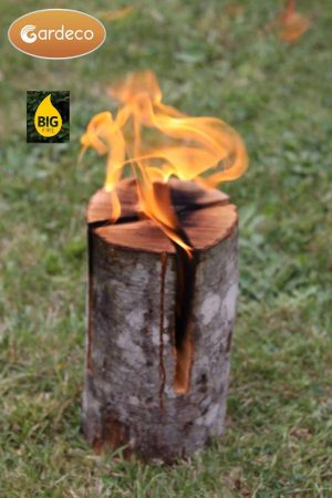 Swedish Alder Torch Log (Small)