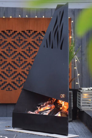 Oxi Black Edition Chiminea
